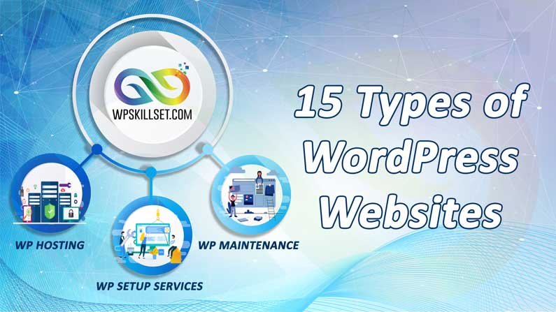 15 Popular types of websites that you can create with WordPress